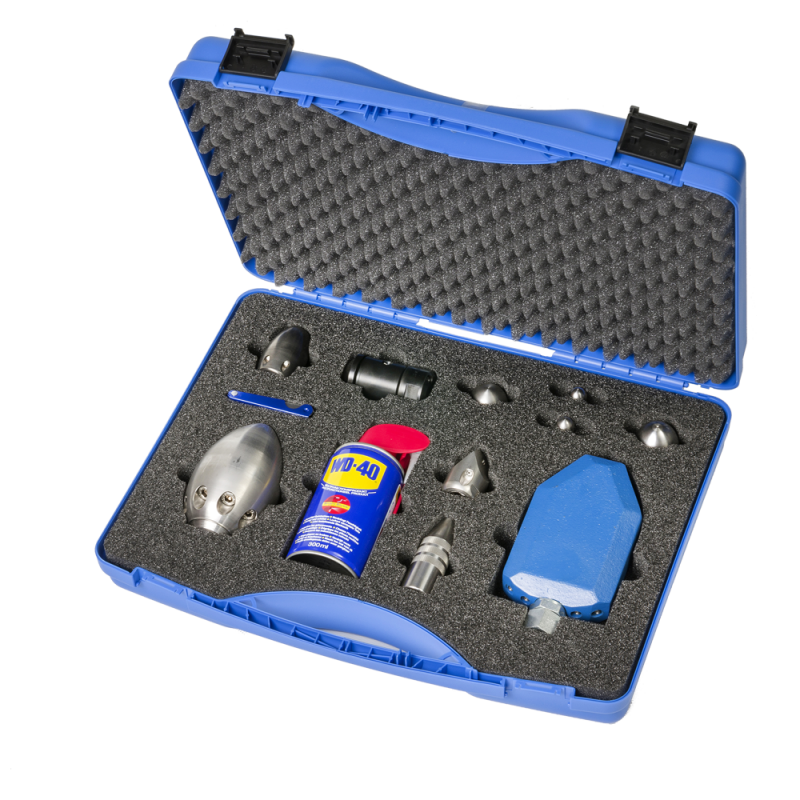 "Profi set jetting nozzles 1/2""in tool case"