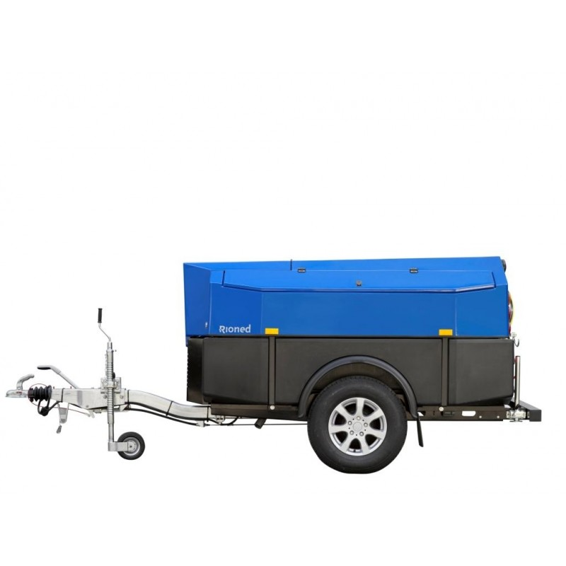 MultiJet High-Pressure Trailer Jetter