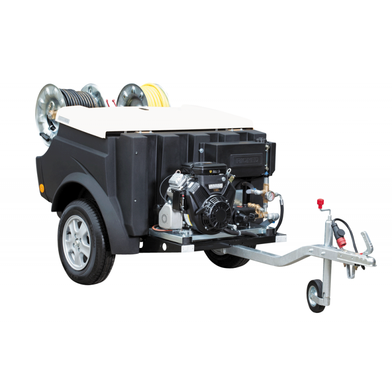 FlexJet High-Pressure Trailer Jetter