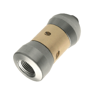 Rotating jetting nozzle stainless steel