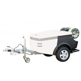 FlexJet+ High-Pressure Trailer Jetter