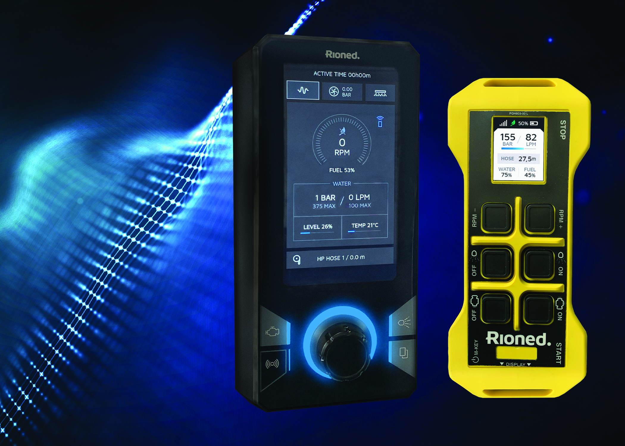 Rioned Launch the eControl Touch - The Next-generation Sewer Machine Management System