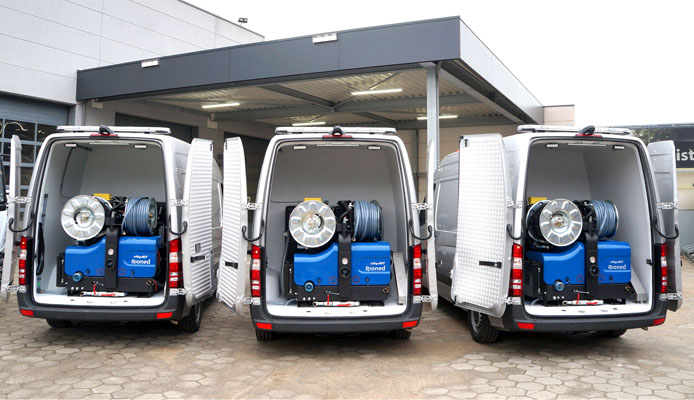 Rioned van-packs ready to roll