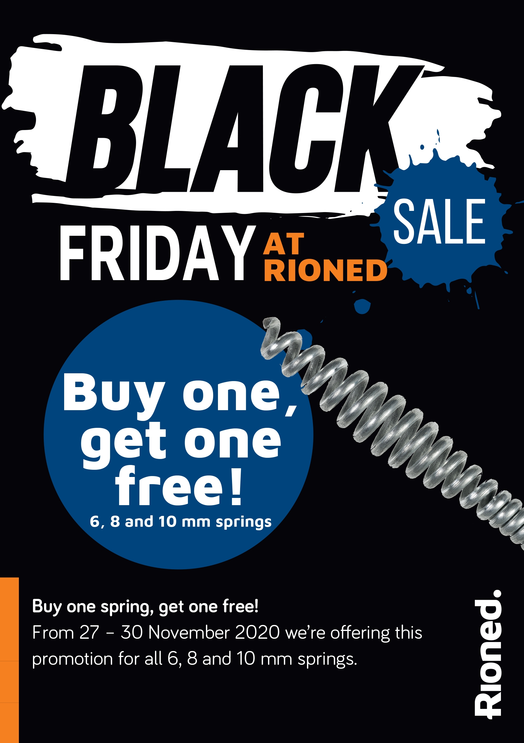 Rioned black friday