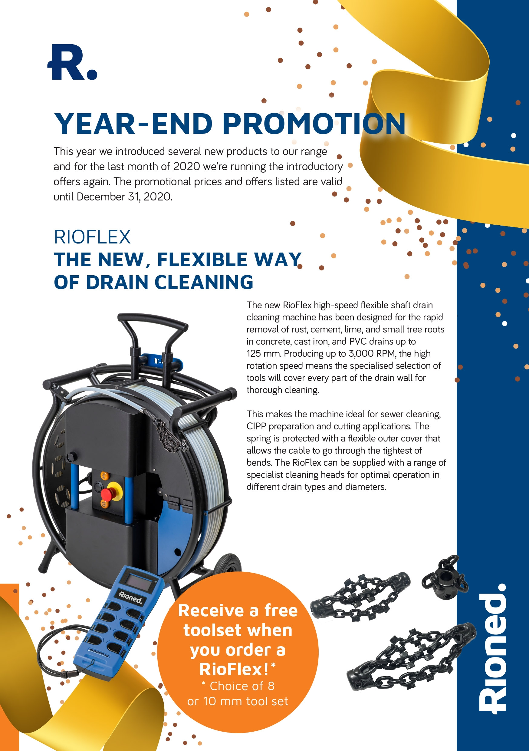 Rioned year-end promotion