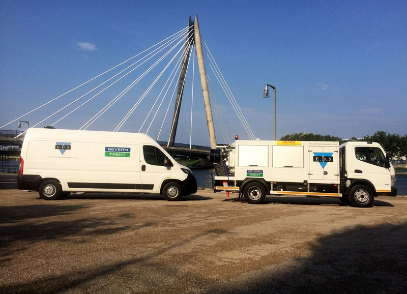 EDS' new fleet includes a jetvac tanker and seven operation-ready jetter vans