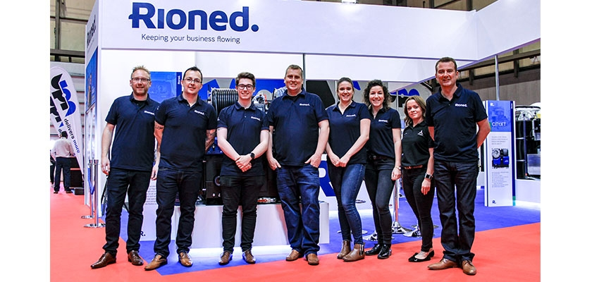 The Rioned Team at the CV Show 2019