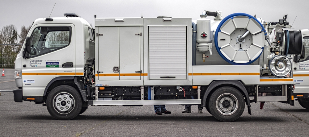 One of five RioCom jetvac units supplied to Sapphire Utility Solutions