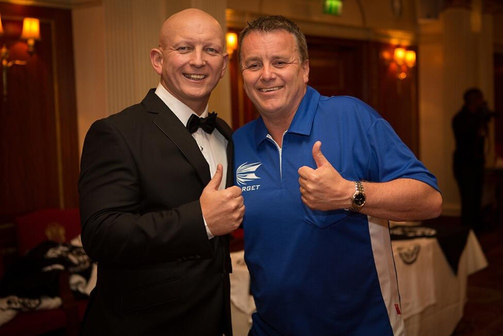 MC Paul Booth and Keith Deller